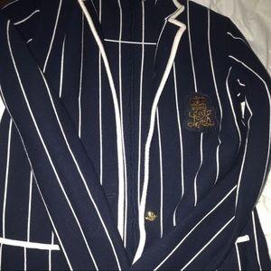Ralph Lauren's Women Pinstriped blazer